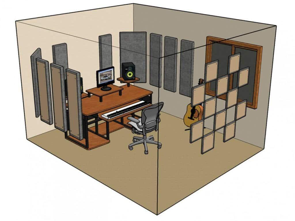 چگونه استودیو خانگی بسازیم